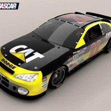 NASCAR 3D Model