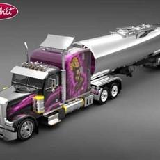 Peterbilt 379 3D Model
