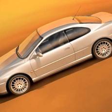 Peugeot 406 Coupe 3D Model