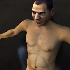 heroic male 3D Model