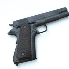 colt 45 3D Model
