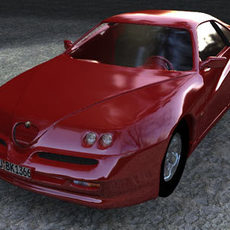 Alfa Romeo GTV 3D Model