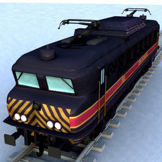 train eloc 1601-1658 3D Model