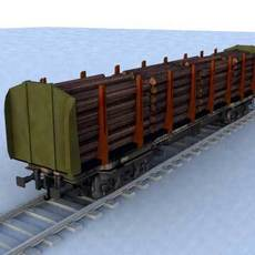 wagon - 14 3D Model
