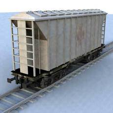 wagon - 06 3D Model
