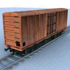 wagon - 02 3D Model