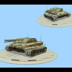 JDG Tank 3D Model