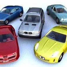car collection vol1 3D Model