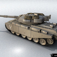 centurion - tank 3D Model