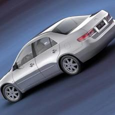 2003 Honda Accord USA 3D Model