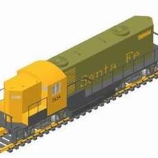 Santa Fe 3D Model