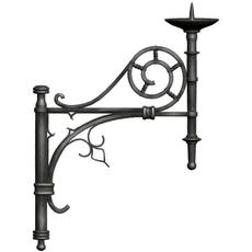 Gothic Candelabra 3D Model
