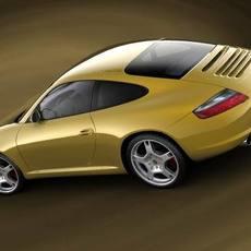Porsche 911 Carrera S, 2005 3D Model