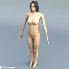 suzie - naked 3D Model