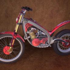 Trials Bike - Motorcycle Design 3D Model