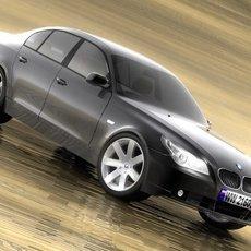 BMW 5 2005 3D Model