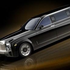 Rolls Royce Phantom Limo 3D Model