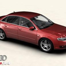 Audi A4 2005 3D Model