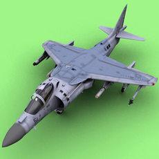 Harrier 3D Model