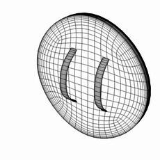 Wood Shield 3D Model
