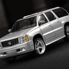 Cadillac Escalade ESV 2005 3D Model