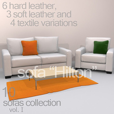 "sofa ""Hilton"" 3D Model"