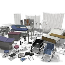 3DAgent : Medical Equipment Collection Vol. 1 3D Model