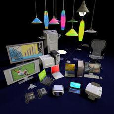 3DAgent : Office Collection Vol. 1 3D Model