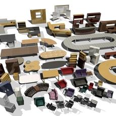 3DAgent : Office Collection Vol. 2 3D Model