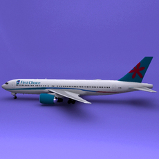 Boeing 767 First Choice 3D Model