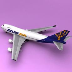Boeing 747 Altas 3D Model