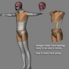 Create character clothing in zbrush using extrude plugin