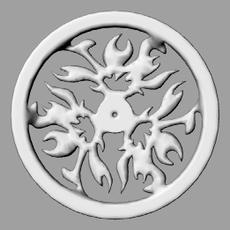 flame wheel 3D Model