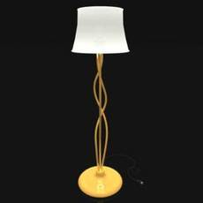 Pole Lamp (.DXF) 3D Model