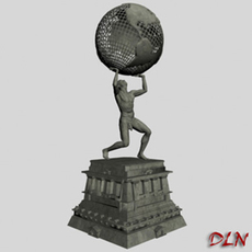 Statue of freedom 3D Model