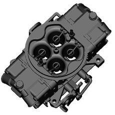 HOLLY 4-BARREL CARBURETOR 3D Model