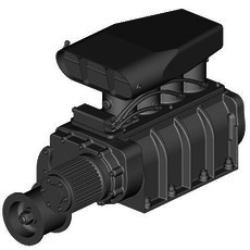 GMC BLOWER WITH FUEL INJECTION 3D Model