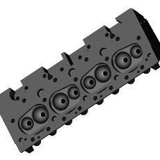 CHEVROLET SMALL-BLOCK.....BARE HEAD 3D Model