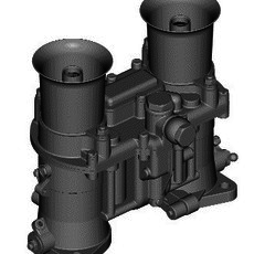 WEBER IDA CARBURETOR 3D Model