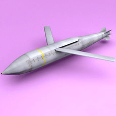 AGM-154A Joint Standoff Weapon 3D Model