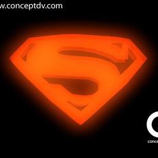 Superman Returns Logo 3D Model