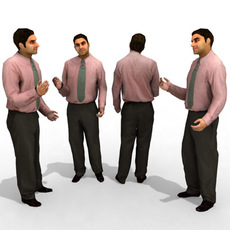 3d Model - Business Male #8 3D Model