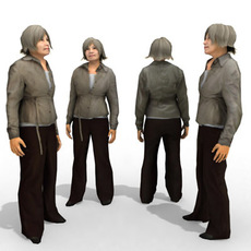 3d Model - Casual Female #9 3D Model