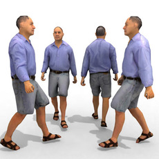 - Casual Male #12 3D Model