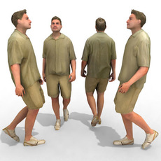 3d Model - Casual Male #9 3D Model