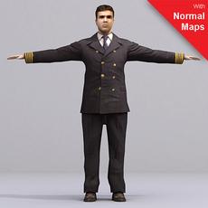 aXYZ design - AMan0005-TP / 3D Human for superior visualizations 3D Model