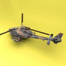 SA-341 Israel 3D Model
