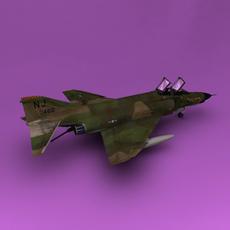 F-4 3D Model