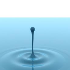 Water Splash.C4D 3D Model