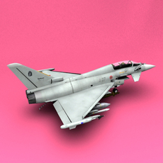 Typhoon Italy 3D Model